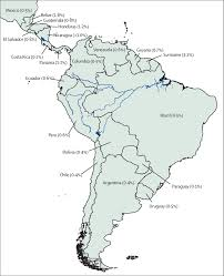 Latin America Map Test by The Hiv Care Continuum In Latin America Challenges And
