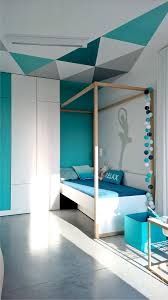 18 best mural black and white images on pinterest wall murals minimalist home uses aqua to accent angles da colors but replace dancer sillouete with gymnast and it would be perfect