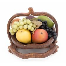 fruit basket apple shape fruit basket