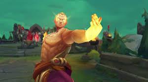 god fist lee sin league of legends