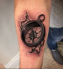 tattoo compass realistic realistic compass tattoo pictures to pin on pinterest tattooskid