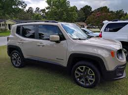modded white jeep new member 2016 latitude 4x4 mojave sand jeep renegade forum