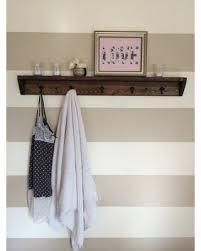 great deal on five hook reclaimed wood towel rack coat rack