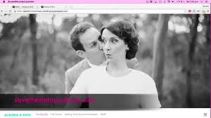 Save The Date Website Wedding Websites With Save The Date Wedding Podcast U0026 Squarespace