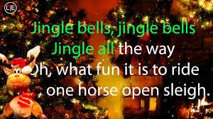 jingle bells karaoke instrumental voice song lyrics hd