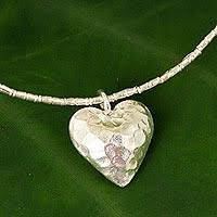 green heart pendant necklace images Heart jewelry heart jewelry collection at novica jpg