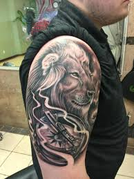 tattoo compass realistic altered images tattoos realistic lion compass tattoo
