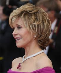 side and back views of shag hairstyle jane fonda hairstyles in 2018