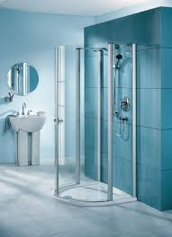 Bathroom Glass Shower Ideas by Bathroom Gorgeous White Bathroom Decoration Using Square White
