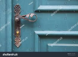 old decorative door handles stock photo 160918085 shutterstock