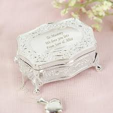 Personalised Jewelry Box Personalised Antique Silver Plated Jewellery Box Buy From