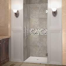 glass shower door hinge aston cascadia 36 in x 72 in completely frameless hinged shower