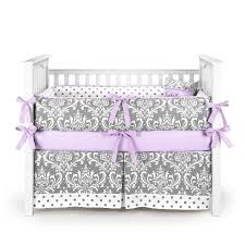Lavender And Grey Crib Bedding Lavender And Grey Crib Bedding Sets
