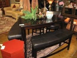 Ashley Furniture High Top Table Braxton Java Large Sectional By - Ashley furniture dining table with bench