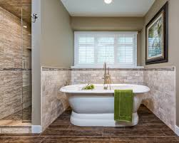 brown tile bathroom brown tile bathroom paint new at custom floor transitional with