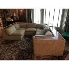 Mid Century Modern Sectional Sofa Vintage Milo Baughman For Thayer Coggin Mid Century Modern