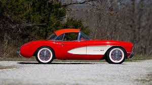 1957 chevrolet corvette convertible 1957 chevrolet corvette convertible t189 indy 2016