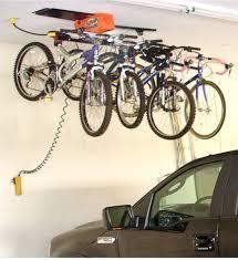 Garage Ceiling Storage Systems by Bike Storage System 4 Hook In Ceiling Bike Storage