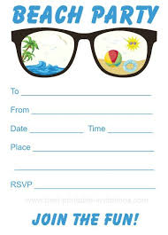 best 25 beach party invitations ideas on pinterest swim party