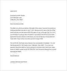arrears letter format letter idea 2018