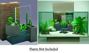 fluval bamboo wall with plant baskets hg12290 fish tanks direct