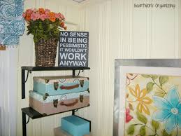 Organizing Your Home Office by No Place To Go But Up Office Shelving Solution Heartworkorg Com