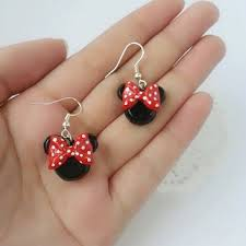 minnie mouse earrings best disney minnie mouse earrings products on wanelo