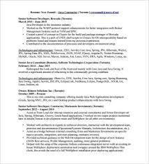 Senior Software Engineer Resume Template Resume Headline For Java Developer For Resume Headline For Java