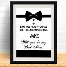 will you be my best personalised typography will you be my best wedding poster