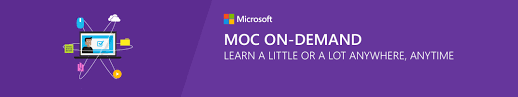 microsoft moc on demand ctu training solutions