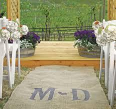 Custom Burlap Art Print Love - wedding aisle runners personalized aisle runners