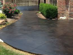 Concrete Staining Pictures by Removing Stain In Stained Concrete Patio U2014 All Home Design Ideas