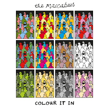 the maccabees vinyl reissue of colour it in vinyl out now the maccabees