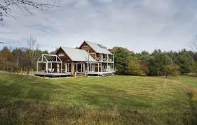 modern home design new england farmstead passive house architect magazine zeroenergy design