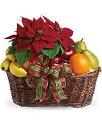 fruit flower basket fruits and blooms basket teleflora