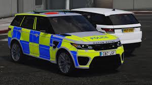 car range rover 2017 police range rover svr gta5 mods com