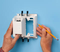 amazon com arlington tvbu505 1 tv box recessed outlet wall plate
