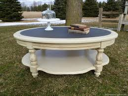 Shabby Chic Coffee Tables Black Shabby Chic Coffee Table Home Decoration
