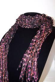 trellis ladder yarn necklace instructions ladder ribbon yarn free patterns ladder yarn scarf knit scarf