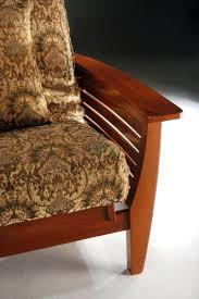 futon frame and mattress set wood queen armless faedaworks com