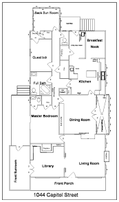 Floor Plan Of The House The House As Purchased The Casa De Kitty Life