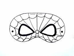 8 u0027paper crafts free printable spiderman mask template