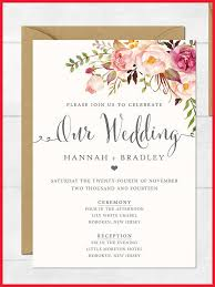 wedding invitation format lovely wedding invitation exles image of wedding invitations