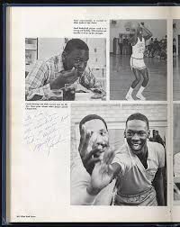 1980 high school yearbook robert edward auctions michael signed 1980 junior and