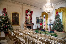 Home Christmas Tree Decorations White House Christmas Theme U0027the Gift Of The Holidays U0027 Wtop