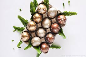 metallic easter eggs diy metallic easter eggs delineate your dwelling bloglovin