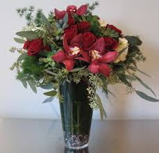 a dozen roses one dozen roses with hydrangeas and orchids in seattle wa fiori