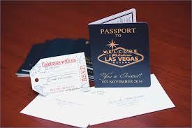 las vegas wedding invitations australian passport wedding invitation to las vegas empire invites
