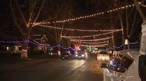 christmas light tour sacramento holiday lights in east sacramento youtube