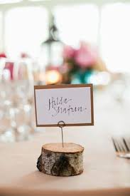Table Setting Cards - diy rustic place card holders dyed clothes pegs with coffee put 2
